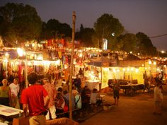 What to buy in India - Goa night market