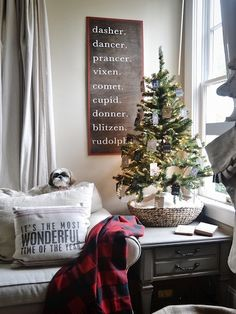 A Rustic North Carolina Home Decked Out For Christmas
