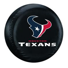 Houston Texans NFL Spare Tire Cover (Large) (Black)