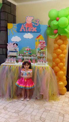 Peppa Pig Birthday Party Ideas | Photo 29 of 40