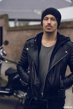 Men's leather jacket - men's fashion style ...