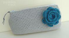 pontinhos meus: Crochet clutch