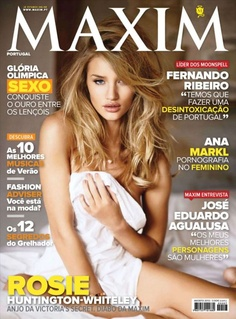 Rosie Huntington-Whiteley For Maxim Portuga