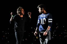 Zayn y Harry en chile, WWAT