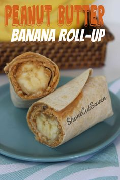 Try these Peanut Butter Banana Roll-Up for an easy after school snack for the kids. - Short Cut Saver