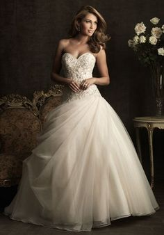 Fairytale wedding dress-----this dress or style dress is in the cards for me