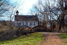 This landscape photo was taken while on a walk on one of the nature trails at the Kansas Museum of History in Topeka. Walking up to this one-room school house located behind the museum was such a pleasant surprise.