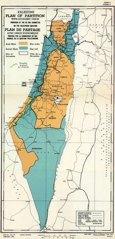 ❖ November 29, 1947 ❖  Despite strong Arab opposition, the United Nations votes for the partition of Palestine and the creation of an independent Jewish state.