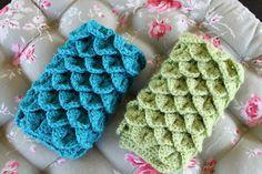 Crocodile Stitch Cell Phone Case
