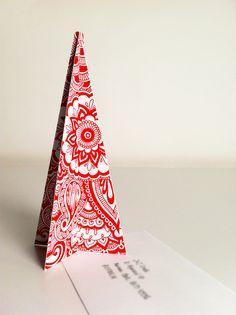 Christmas Card 2011 by Tonielle Krisanski, via Behance