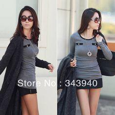 Free Drop Shipping Retro Women s Long Sleeve Blouse Tops Casual Cotton T- Shirt 00245fd2d
