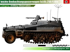 Sd.Kfz.250/4 Alte