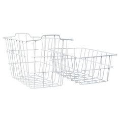 Set of 2 Freezer Storage Baskets