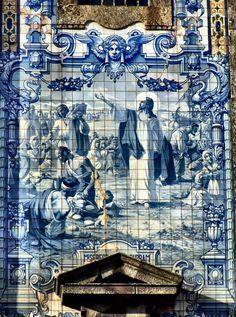 Portugal. Porto. Igreja de Santo Ildefonso.