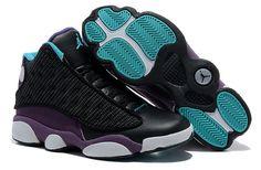 7ba23e872b6 Star s favorite Inside with fluff Black Purple Air Jordan 13 (XIII) Sports  Shoes Shop