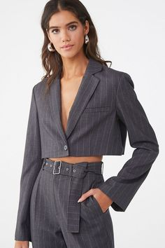 30 New Forever 21 Items That Are Bound to Sell Out Suits For Women, Jackets For Women, Women Wear, Clothes For Women, Women's Jackets, Work Jackets, Denim Jackets, Winter Jackets, Trendy Outfits