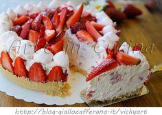 Cheesecake alle fragole con mascarpone senza forno, ricetta facile e veloce, dolce da dessert, torta fredda con fragole e panna, dolce per la mamma, torta veloce