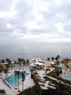 Alberca Hotel SEcrets Puerto Vallarta