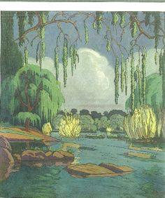 J H Pierneef, Vaal Rivier, Parys. Oil on canvas. South Africa Art, African Paintings, South African Artists, Woodland Animals, Acrylic Art, Art Forms, Watercolor Art, Oil On Canvas, Art Projects