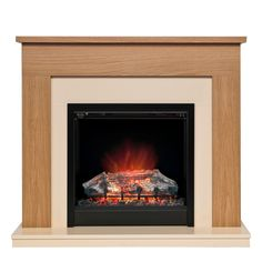 Be Modern Blakemere LED Electric Fire Suite - B&Q for all your home and garden supplies and advice on all the latest DIY trends Stone Electric Fireplace, Electric Fireplaces Direct, Electric Fireplace Suites, Electric Fire Suites, Electric Fires, Fire Surround, Real Fire, Home Technology, Interior And Exterior