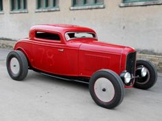 1932 Ford Coupe- this car makes me think of a soap box derby racer