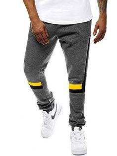 donhobo Herren Sporthose Leichte Open Hem Jog Pants Mesh Trainingsanzug Hose Jogger Streetwear Sweatpants mit Taschen