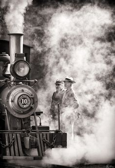 ...in smoke and steam... by Matthew Malkiewicz on 500px
