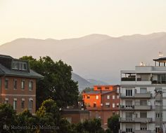 Tramonto a Frosinone