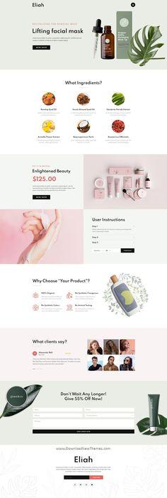 Banner Design Inspiration, Website Design Inspiration, Ecommerce Website Design, Website Design Layout, Cosmetic Shop, Cosmetic Design, Graphisches Design, Modern Design, Beauty Web