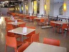 #人造石桌面餐桌-台中國立美術館咖啡廳