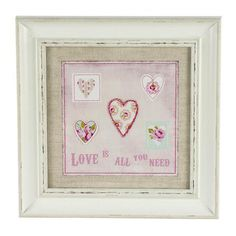 Rose and Ellis Clarendon Collection Framed Heart Picture #Dunelm #Home #Decor