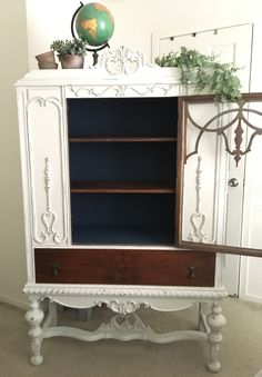 shabby chic cabinet Things I Love Pinterest