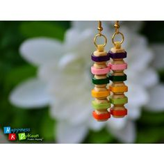Colour Fusion Handmade Earrings - Online Shopping for Earrings by Happiness Ki Dukaan-Jewellery-Happiness Ki Dukaan