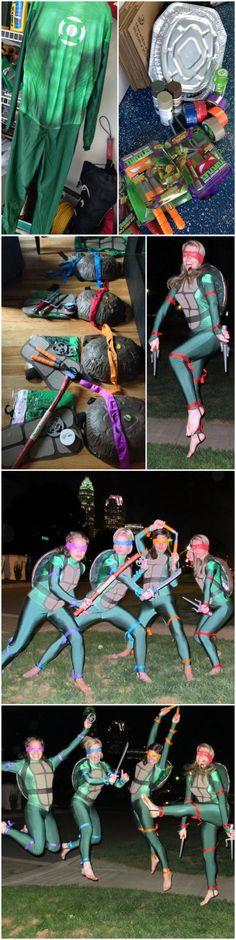 59 Homemade DIY Teenage Mutant Ninja Turtle Costumes | Big DIY IDeas