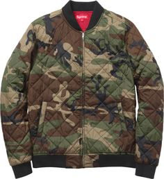 Supreme Quilted Work Jacket - General Petraeus Hype