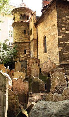 Old Jewish Cemetery . Prague