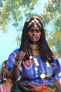 Africa | Hedareb woman - Festival Eritrea 2006 - Asmara Eritrea. | © Hans van der Splinter