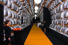 #tunnel #entrée #salon #design #amazing #sublime #wahooeffect #espritmeuble #2014