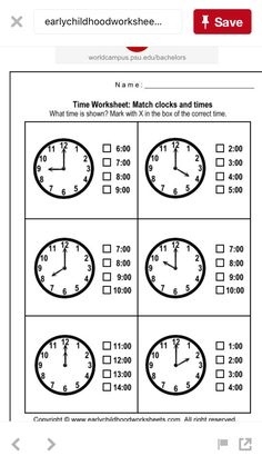 Matching Clocks and Time Worksheets - Worksheet # Clock Worksheets, 2nd Grade Math Worksheets, Subtraction Worksheets, School Worksheets, 1st Grade Math, Kindergarten Math, Hindi Worksheets, Matching Worksheets, Science Worksheets
