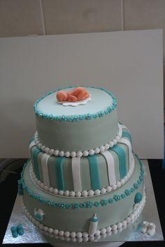 Doop taart jongen