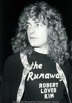 Robert Plant 1977. (I really don't have a caption for this sorry)