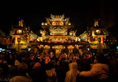 Raohe Temple, Taiwan - a place where people gather and celebrate together Taiwan, Travel Photos, Traveling By Yourself, Temple, Travel Photography, Places To Visit, Celebrities, Celebs, Travel Pictures