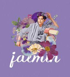 "strawberryuta: "" ""pressed flower boys; jaemin, jisung, & haechan ♡ "" """