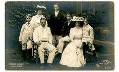 Political Portrait President Theodore Roosevelt Family RPPC Rotograph Postcard | eBay -- President Roosevelt and his family by publisher Rotograph & Co. (c. 1908)