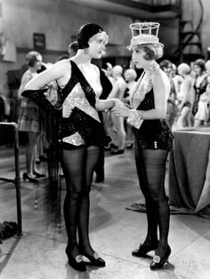 Bessie Love and Anita Page