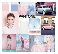 """""""#PANTONE"""" by jona-zaloznik ❤ liked on Polyvore featuring Bebe, River Island, City Chic, women's clothing, women, female, woman, misses, juniors and plus size clothing"""