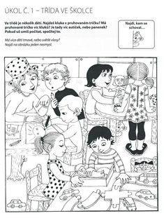 Hidden Pictures, Stories For Kids, Speech Therapy, Kids And Parenting, Montessori, Kindergarten, Preschool, Teaching, Cartoon