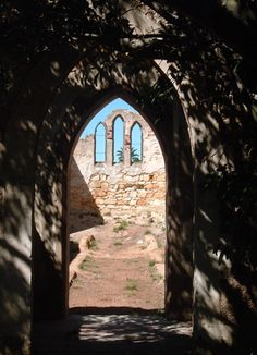 Ruins of old Church in Port Elizabeth, Eastern Cape, South Africa