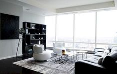 Black And White Living Room Decor With Minimalist Design 10