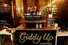 Giddy Up Coffee  Shoreditch, London  https://www.facebook.com/pages/Giddy-Up-Coffee/148029948599628